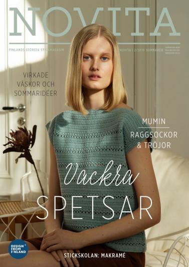 Novita Sommaren 2019 -magasin