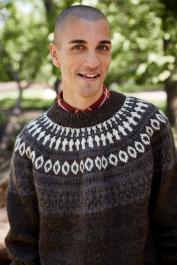 Novita Suomivilla: Siimes colourwork sweater