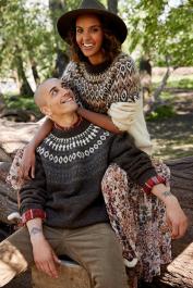 Novita Icelandic Wool: Kiuru colourwork sweater