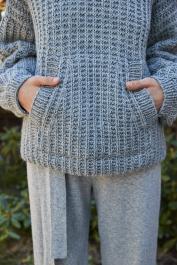 Novita Isoveli: Rento knitted hoodie