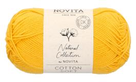 Novita Cotton Soft-269 auringonkukka