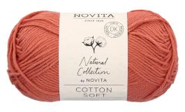 Novita Cotton Soft-640 punasavi