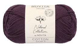 Novita Cotton Soft-768 luumu