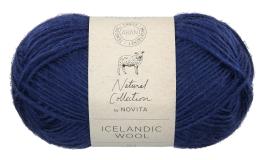 Novita Icelandic Wool-164 blueberry