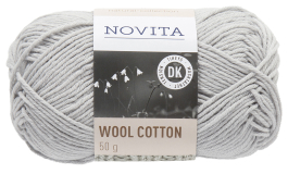 Novita Wool Cotton-402 kitti