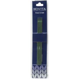 Novita double-pointed needles 15 cm-2.5 mm