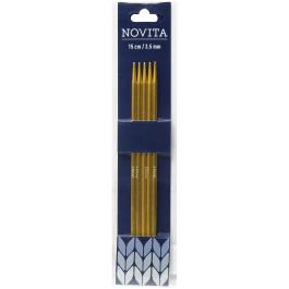 Novita double-pointed needles 15 cm-3.5 mm