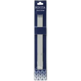 Novita double-pointed needles 20 cm-3.25 mm