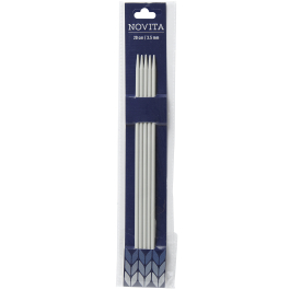 Novita double-pointed needles 20 cm-3.5 mm