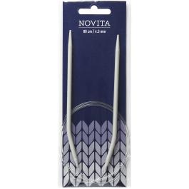 Novita circular needles 80 cm-4.5 mm