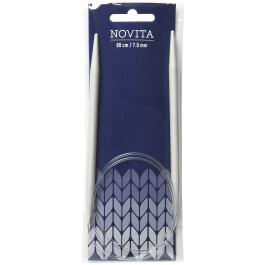 Novita circular needles 80 cm-7.0 mm