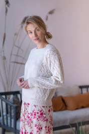 Women's lace sweater Novita Nalle
