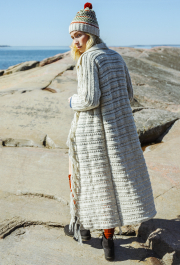 Long Sideways Cardigan Novita Nalle