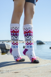Colourwork Socks Novita 7 Brothers