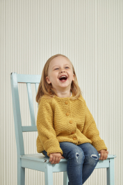Children's cardigan Novita Wool Cotton