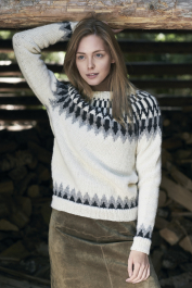 Women's knitted sweater Novita Natura