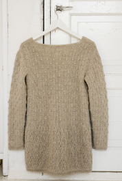 Womans Knitted Cardigan Novita Suomivilla (Finnwool)