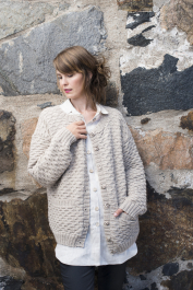 Womans Cardigan Novita Alpaca Wool