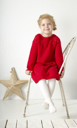 Children's knitted dress Novita Venla