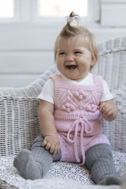 Snowberry romper for babies Novita Baby Wool and Venla