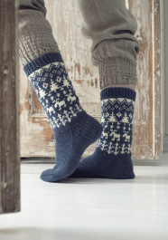 A Trip into the Woods Socks Novita Nalle (Teddy Bear)