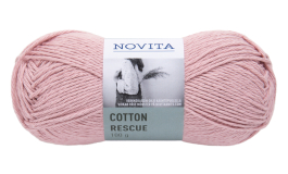 Novita Cotton Rescue-504 rosenvatten