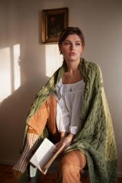 Tendre-neuleshaali Novita Cotton Soft