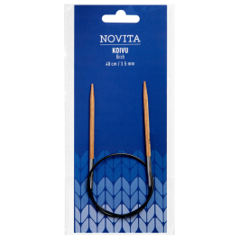 Novita circular needles 40 cm birch