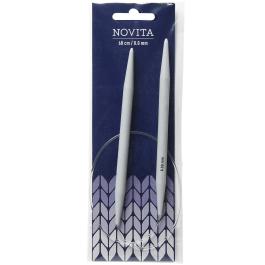 Novita circular needles 60 cm-8.0 mm