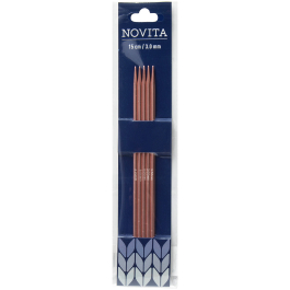 Novita double-pointed needles 15 cm-3.0 mm