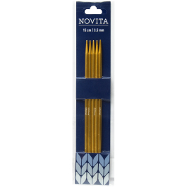 Novita double-pointed needles 15 cm-4.0 mm