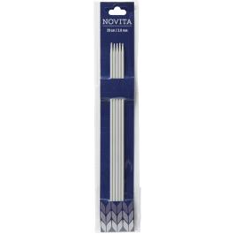 Novita double-pointed needles 20 cm-3.0 mm