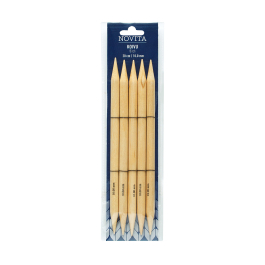 Novita double-pointed 20 cm birch -10.0 mm