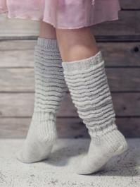 Crinkle-leg Socks Novita Nalle