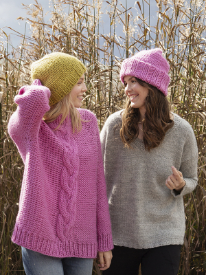 Novita Hygge Wool: New to knitting -hat