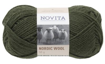 Novita Nordic Wool-397 fir
