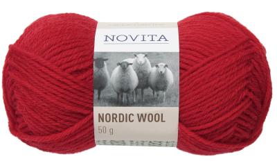 Novita Nordic Wool-549 Christmas