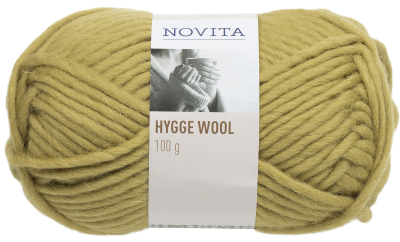 Novita Hygge Wool-333 peat moss