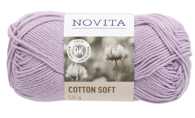 Novita Cotton Soft-725 lavender