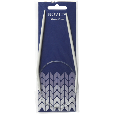 Novita circular needles 60 cm-4.5 mm
