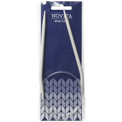 Novita circular needles 60 cm-5.5 mm