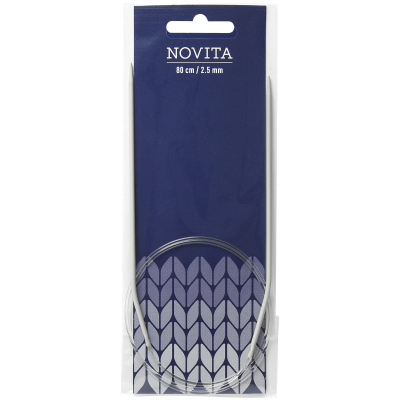 Novita circular knitting pins 80 cm-2.5 mm