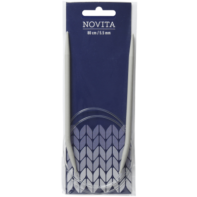 Novita circular needles 80 cm-5.5 mm