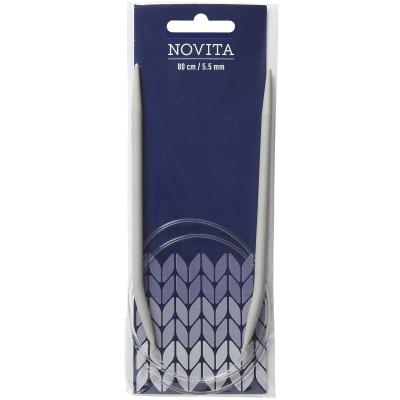 Novita circular needles 80 cm-5.5 mm
