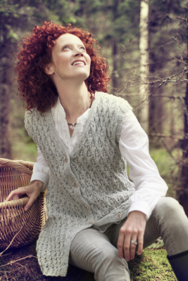 Womans Lace Vest Novita 7 Veljestä (7 Brothers)