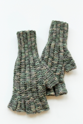 Adult Fingerless Gloves Novita 7 Veljestä Viidakko (7 Brothers Jungle)