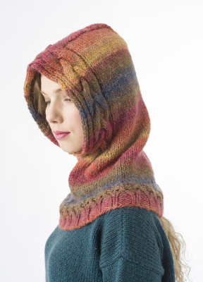Cable Cowl With Hood Novita Joki (River)