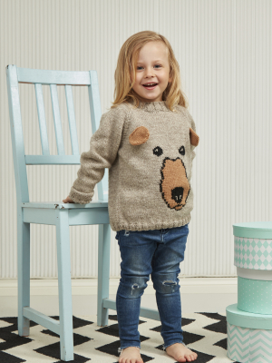 Children's sweater Novita Nordic Wool