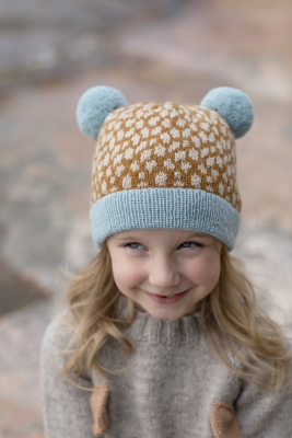 Fauna hat for toddlers, children and women Novita Venla ja Baby Merino