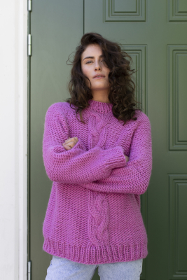 Frida sweater Novita Hygge Wool